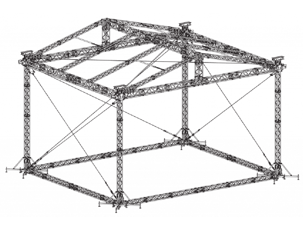 MPT stage roof CAD