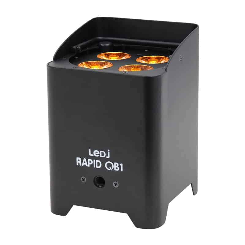 LEDJ Rapid QB1 uplighter hire