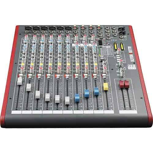 Allen & heath zed 12fx hire